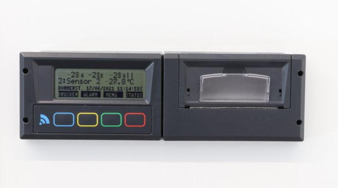 Kommunikationsschreiber Display mit Daten