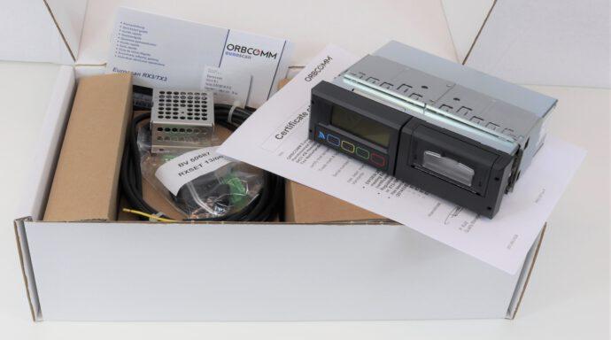 Temperaturschreiber Euroscan RX3/TX3 Radioschachtgerät